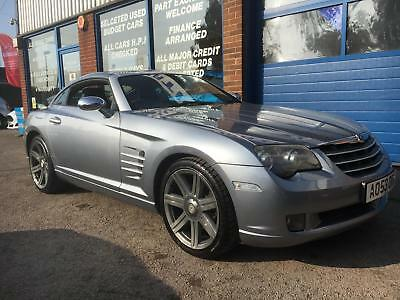 Chrysler Crossfire 3.2 auto 2003 JUST 49651 MILES+AUTO+FULL HEATED LEATHER SEATS