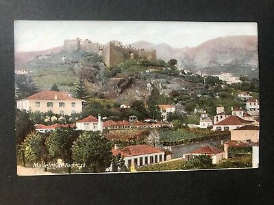 1906 Madeira - Fortress - Undivided Back - Postcard Ref066