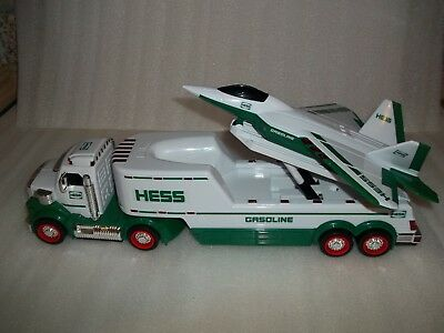 2010 Hess Toy Gasoline Truck with Jet Plane