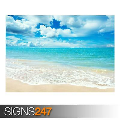 SUNNY DAY (AD933) NATURE POSTER - Photo Picture Poster Print Art A0 A1 A2 A3 A4