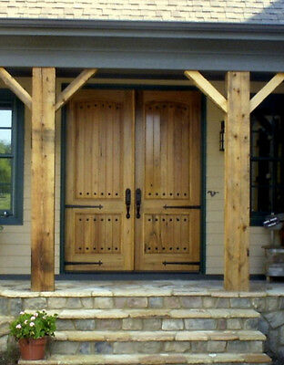 Tuscan Style Knotty Alder Double Entry Door 6/0x8/0