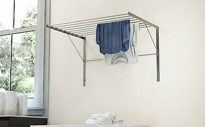 Wall Mount Drying Rack Hanger Laundry Room Hanging Clothes