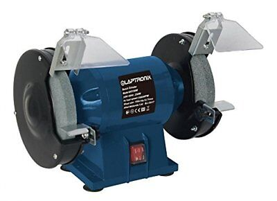 Laptronix 250w Bench Grinder 6` 150mm Twin Grinding Stone for Home or Workshop