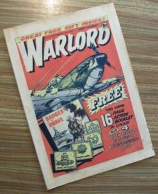 Warlord #51 (no free gift)_UK Comics_War_70s_VG