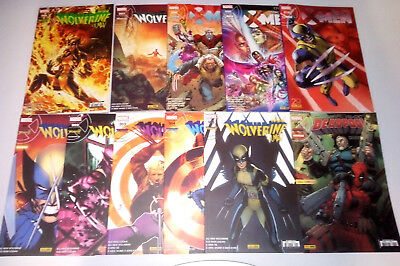 Lot de comics V.F MARVEL (Panini) X-Men Wolverine Deadpool Cable