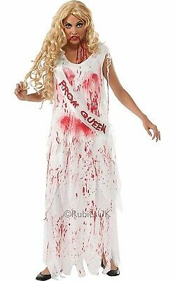 Carrie Bloody Prom Queen 80s fancy dress adult womans Halloween party costume