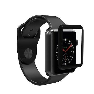 ZAGG InvisibleShield Premium Protection Glass for Apple Watch 38mm Black TS
