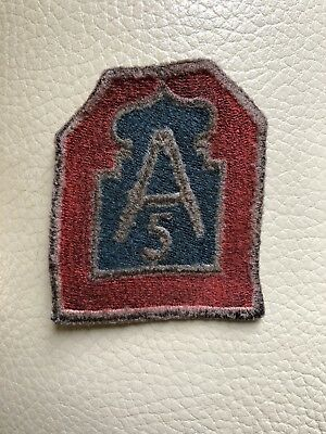 Patch us 5th Army parade wwii ww2 5a armata florence Army