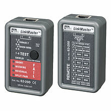Ideal 62-200 LinkMaster Ethernet Tester Automatic Shutoff