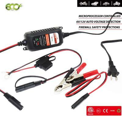 Smart Battery Charger Fully Automatic Maintainer Car Motorcycle Acid Batteries