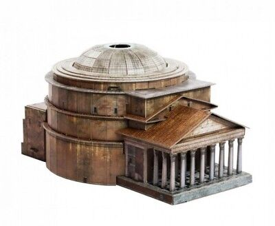 Cardboard model kit. The Pantheon in Rome.  1/400 scale.