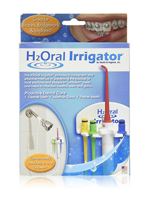 H2Oral Irrigator Dental Shower Water Floss Jet Tooth Pick, New!