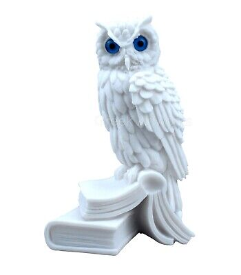 Owl of Goddess Athena symbol of Wisdom & Education Greek Statue Sculpture