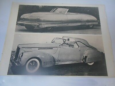 Lot of two framed Photographs of Four Antique Automobiles