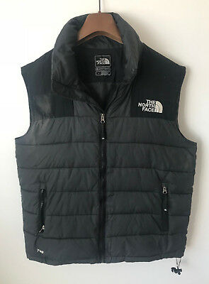 The North Face Body Warmer/gilet! Mens M/l Black! Down! Coat! Jacket!