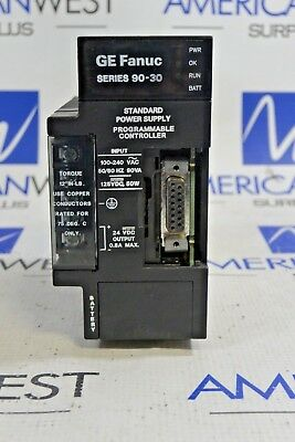 Ic693Pwr321R Ge Fanuc Power Supply 120/240Vac  125Vdc Series 90-30