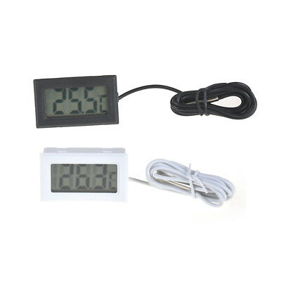 Mini Digital LCD High Temperature Thermometer With Probe Celsius YR