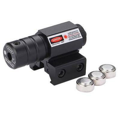 Tactical Red Laser Beam Dot Sight Scope For Gun Rifle Pistol Picatinny Mount New