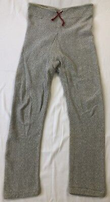 60s Champion Knitwear Reverse Weave Sweat Pants Expansion Gusset Small USA Made