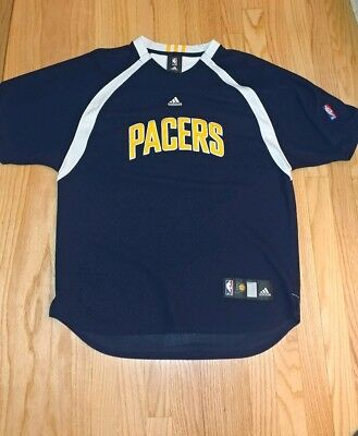 c42fe2b2e Indiana Pacers Jersey Warm Up Shooting Shirt Size Large brand Adidas non  nike