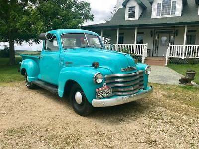 Other Pickups 5 window 3100 truck 1949 Chevy Other Pickups 3100 shortbox 5 window MAKE OFFER!!