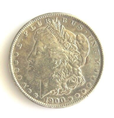 1900 P MORGAN SILVER DOLLAR  Nice Original Toned XF