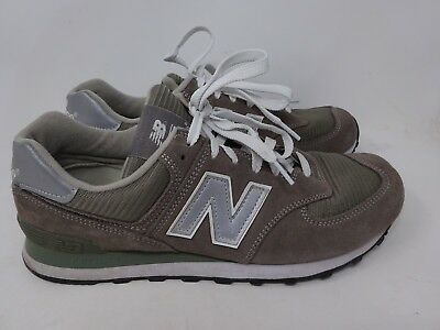 new product 9affd f23a9 NEW BALANCE MENS Grey Brown Sneaker 574 Retro Classic Size 11D