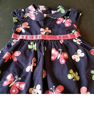 Gymboree 4T 5T Butterfly Dress Cactus Cutie Blue Rayon Dress NWT Outlet