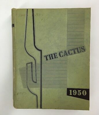 The 1950 Cactus Vol 57 University Of Texas Austin, Student Publications Yearbook