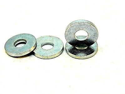 """100 Steel Back Up Washer 3/16 Id X 1/2"""" Od For Blind Pop Rivets #6 Nh"""