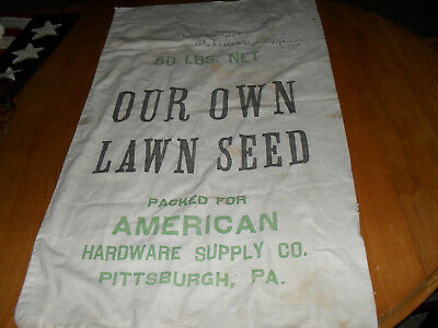 Vintage Seed Sack from American Hardware & Supply Co., PITT & ALIQUIPPA PA