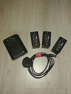 Canon C300 Batteries and Charger -  BP-975