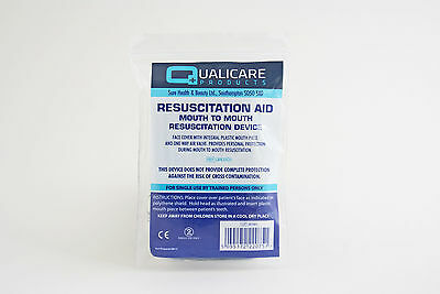 Resuscitation Aid, Mouth to Mouth, CPR, Face shield, Mask, First Aid, Resus Aid