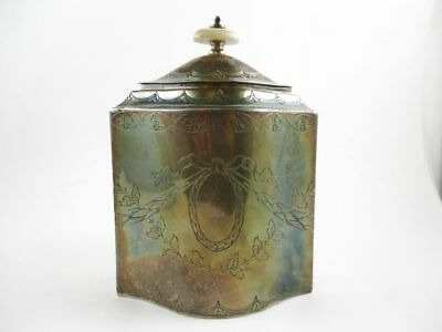 Portuguese Silver .916 Covered Canister 1938- 1984
