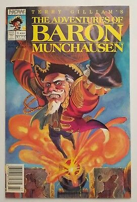 The Adventures of Baron Munchausen Comic #1 - NOW Comics - 1989 - Free Shipping!