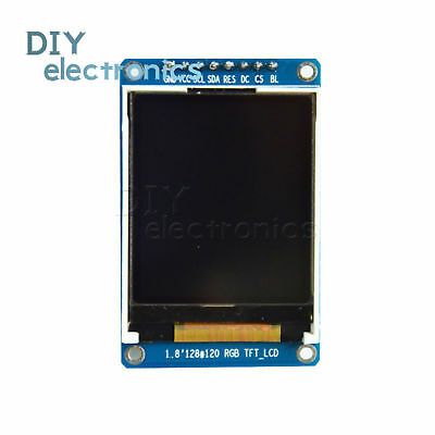 """1.8"""" inch 128x160 SPI Full Color TFT LCD Display Module Replace OLED US"""