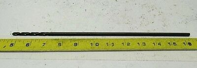 "(2x) NEW! #32 PTD HSS Aircraft Extra Long Drill Bits 12"" OAL 7/64 wire 022632AW"