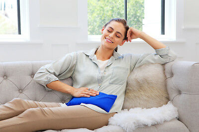 Multi Use Pain Relief Solution Heat Pillow  -My Heating Pad (Blue)