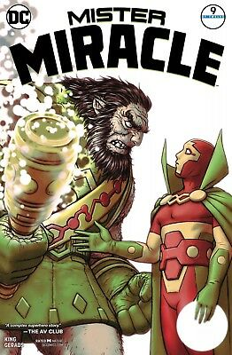 MISTER MIRACLE #9 (OF 12) DC COMICS NEAR MINT 6/13/18 Bx 126