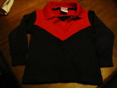 afl football jersey knitted jumper melbourne footy club demons size 4