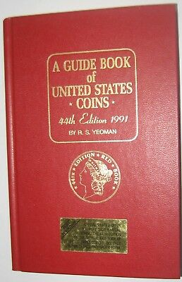 "1991 ""REDBOOK"" 44th EDITION BY R. S. YEOMAN HARD COVER"
