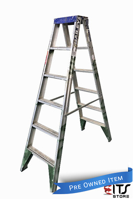 Bailey Aluminium Step Ladder 1.8 Meter Double Sided Industrial 120kg