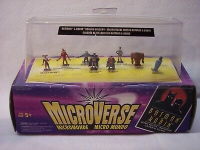 Vintage Kenner Micro Machines Microverse Batman Rogues Galley 1996 New in Pkg