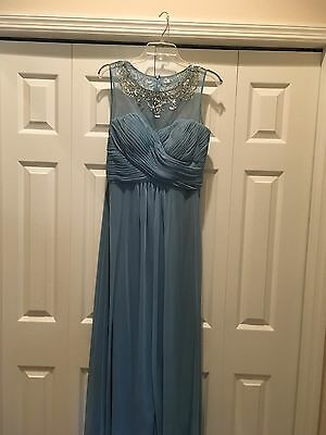 PATRA Embellished Ruched Mother Of The Bride Gown- Size 12