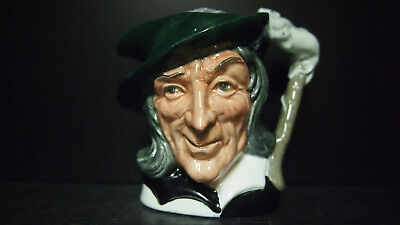 Royal Doulton Pied Piper D6462 Colourway Black White Small Character Jug