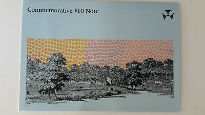 Commemorative 10 dollar note 1988 in presentation folder Uncirculated ten