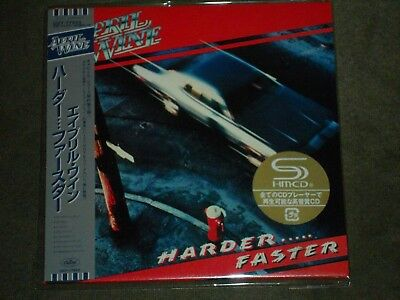 April Wine Harder...Faster Japan Mini LP