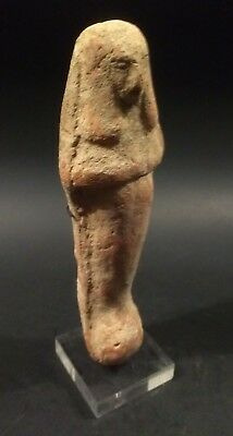 Large Ancient Egyptian Clay Ushabti - Late New Kingdom 1292 to 1075 BC
