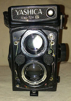 Yashica Mat-124G - Mostly Working with Case!