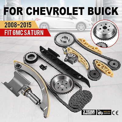 Timing Chain Kit For 2008-2015 Chevrolet Buick Saturn Equinox L4 2.0L 2.2L 2.4L